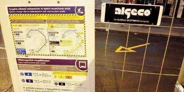 Algeco mobil kerítés minden területre